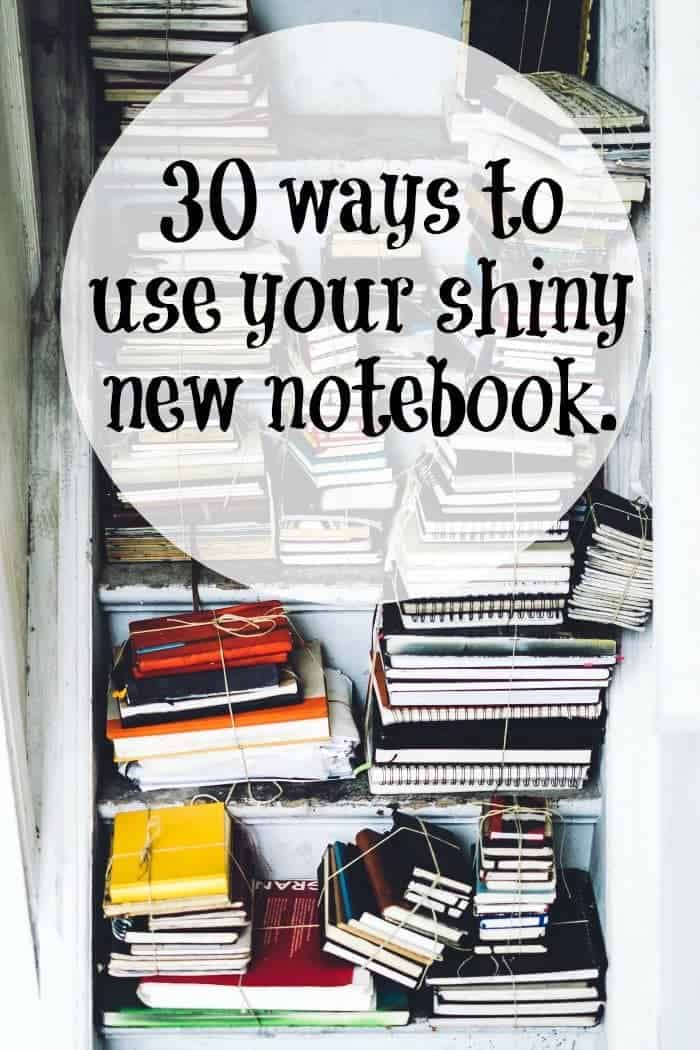 30 ways to use your shiny new notebook....