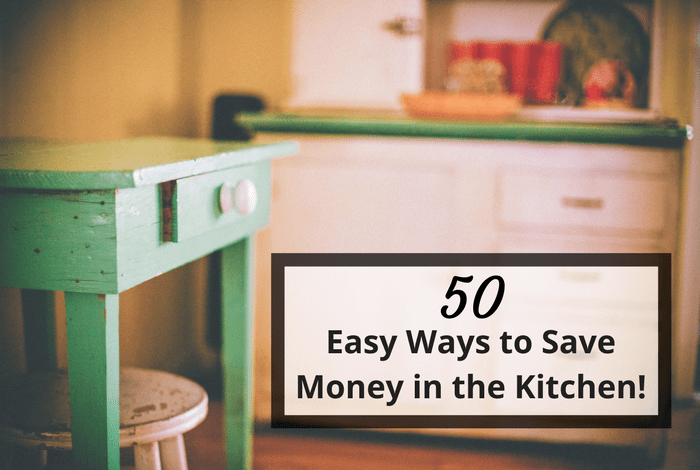 50 Common Sense tips to help you save money in the kitchen….