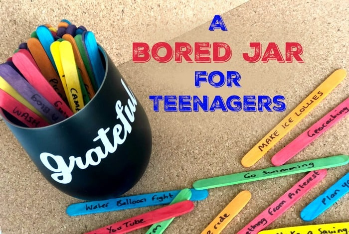 A bored Jar for Teenagers