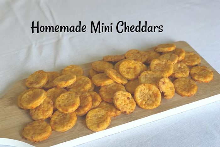 Super Tasty Homemade Mini Cheddars….