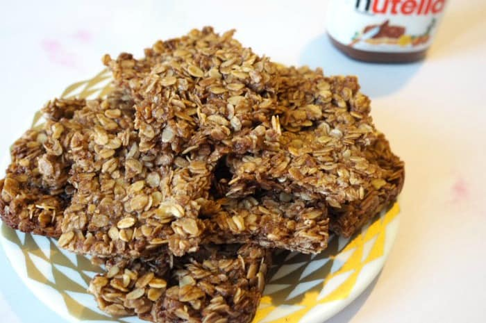 Amazing Nutella Flapjacks