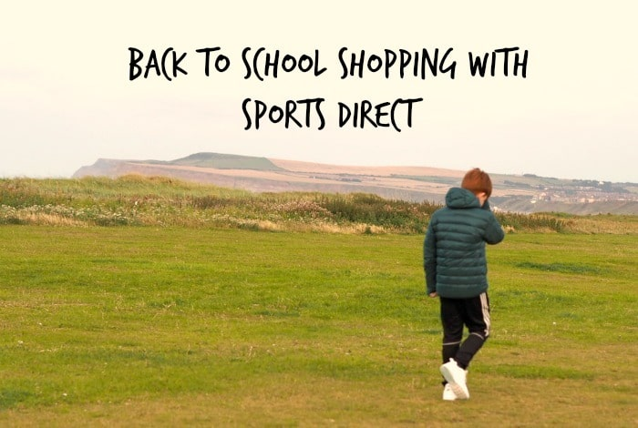 Back to school shopping with Sports Direct...