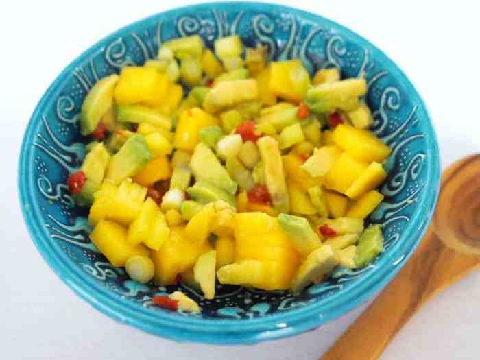 Chilli, Mango and Lime Salsa