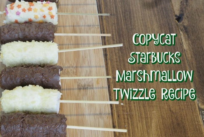 Copycat Starbucks Marshmallow Twizzles….