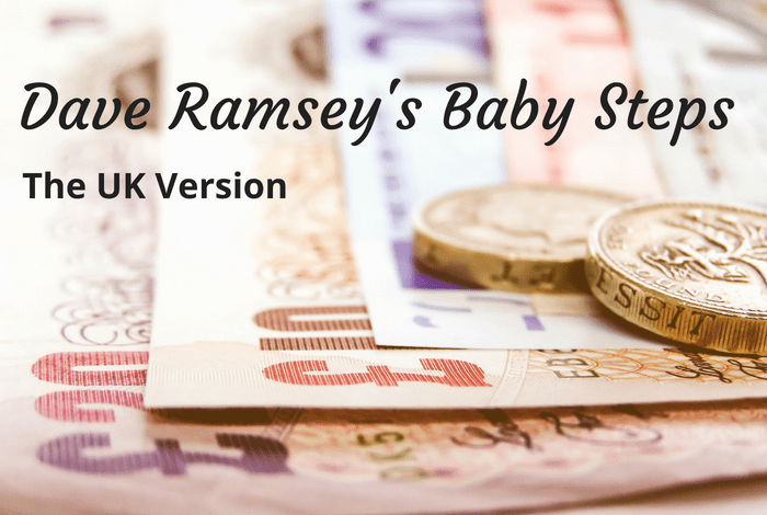 Dave Ramsey's Baby Steps - the UK version....