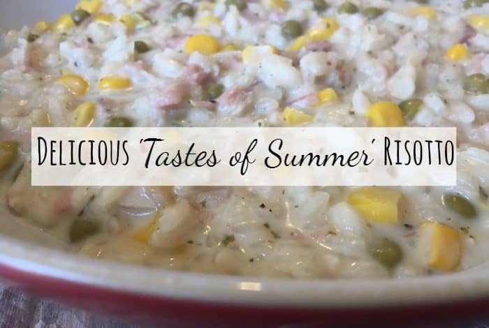 Delicious tastes of summer risotto