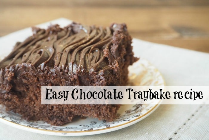 Easy Chocolate Traybake recipe {Baking on a Budget}….