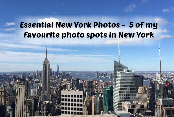 Essential New York Photos –  5 of my favourite photo spots in New York….