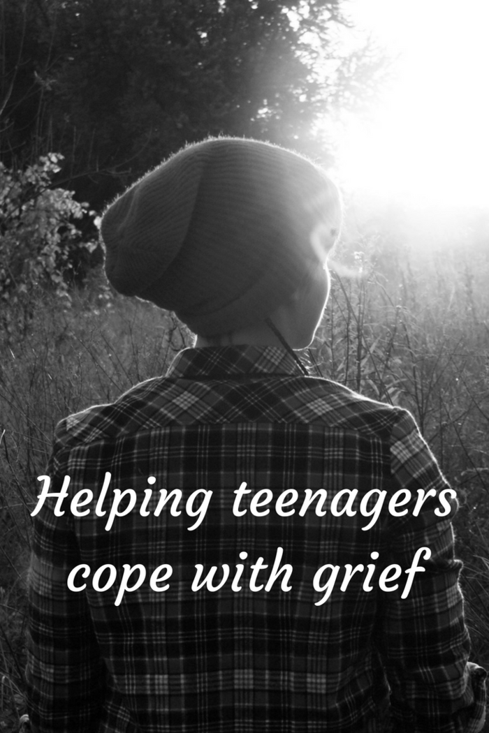 Helping teenagers cope with grief.
