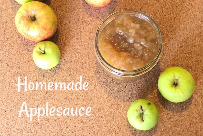 Windfall Homemade Applesauce – easy to make and super tasty….