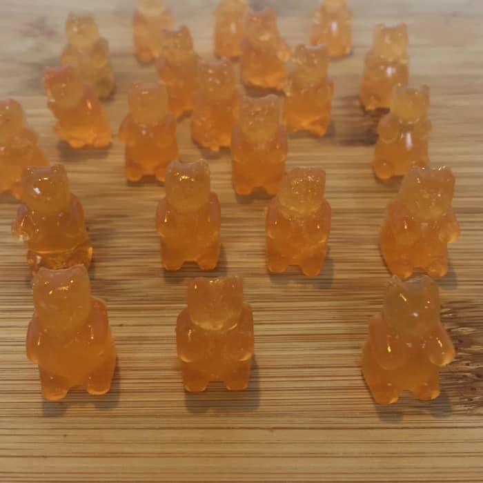 Homemade Jelly Gummy Bears