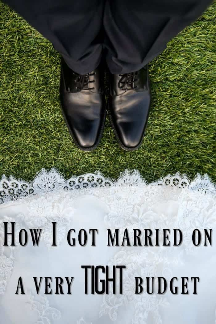 How I got married on a very tight budget