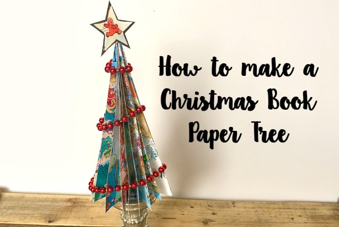How to make a Christmas Book Paper Tree….