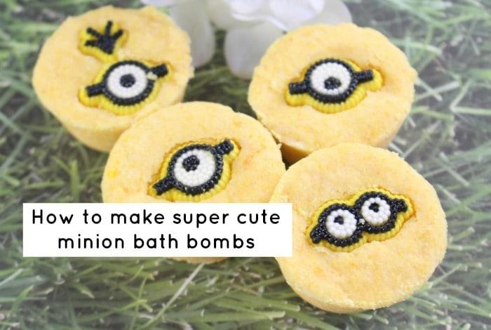 Super cute Minion Bath Bombs….