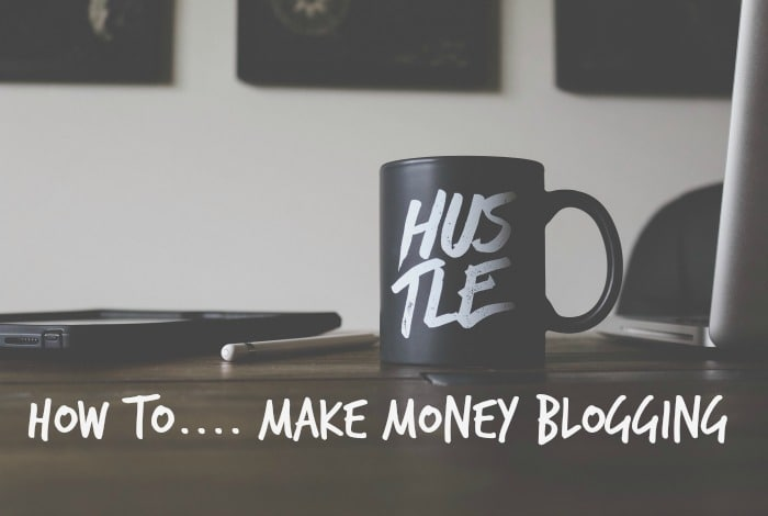 How to make money blogging….