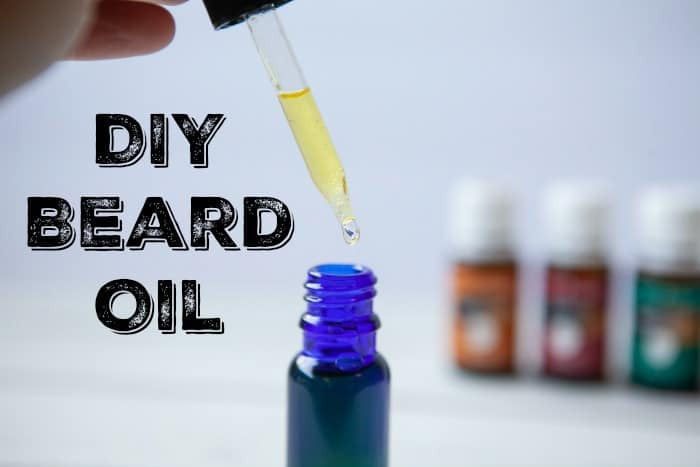 DIY Beard Oil - A great homemade unique fathers day gift!