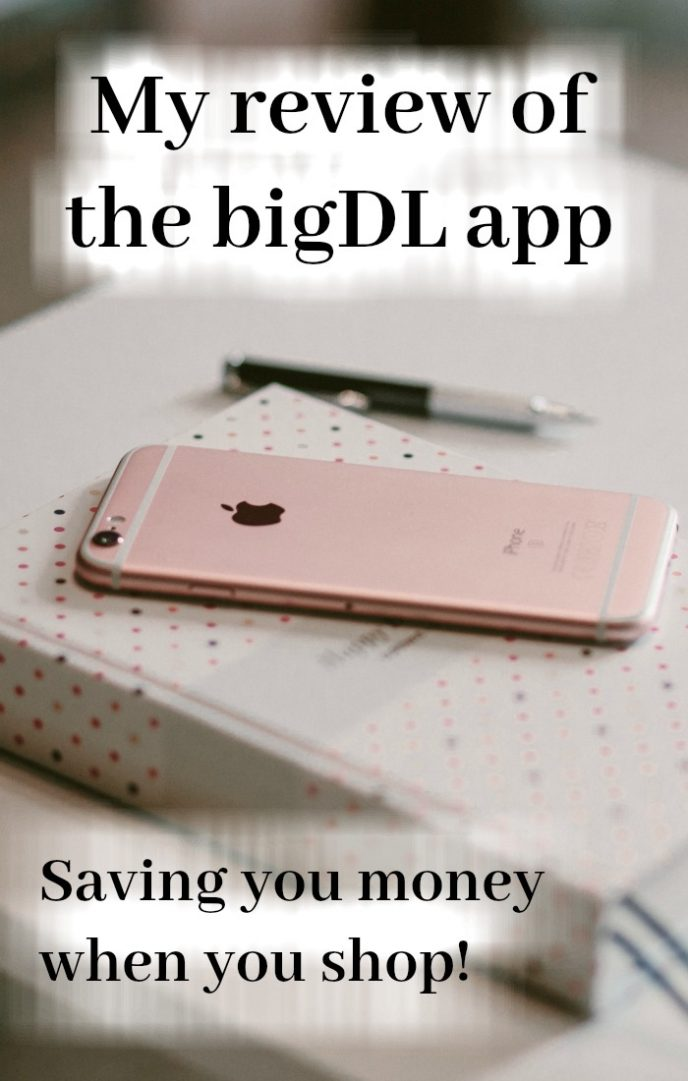 My review of the bigDL app - saving you money when you shop!