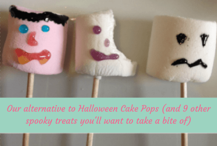 Our alternative to Halloween Cake Pops (and 9 other spooky treats you'll want to take a bite of)….