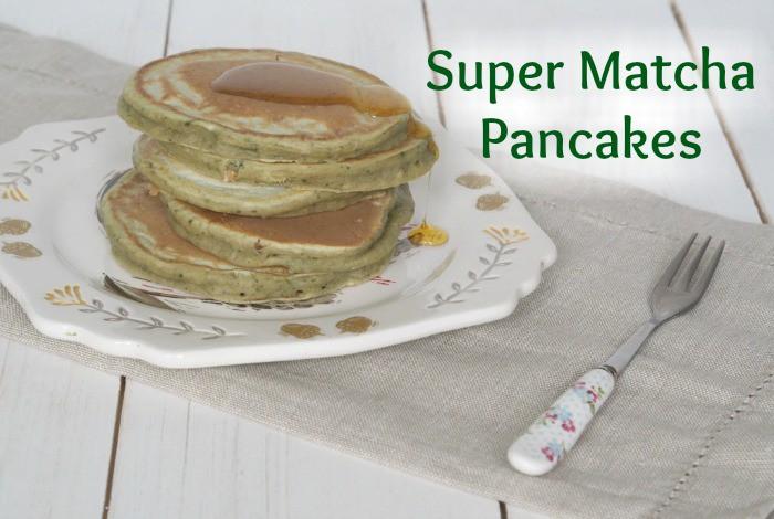Super Matcha Pancakes….