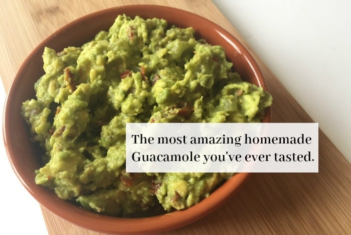 The most amazing homemade Guacamole you've ever tasted….