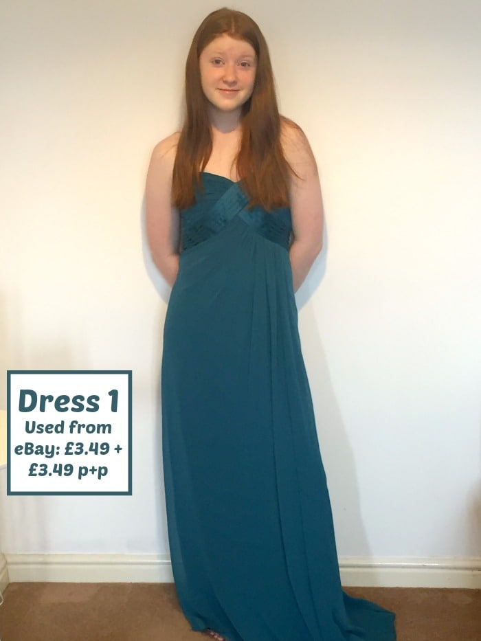 Three Prom dresses for under £7.50.... | The Diary of a Frugal Family