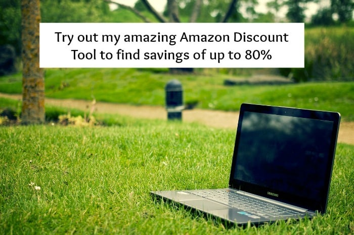 Try out my amazing Amazon Discount Tool to find savings of up to 80%….