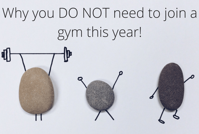 Why you don't need to join a gym this year!