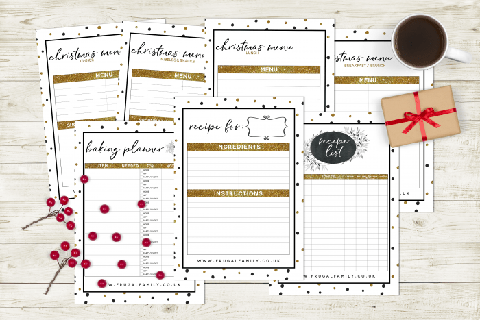 Have an organised Christmas with my amazing FREE Christmas planner printable….