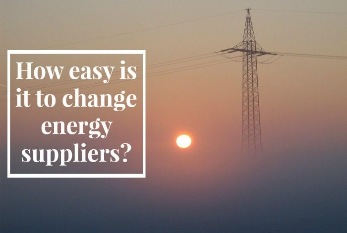 How easy is it to change energy suppliers?