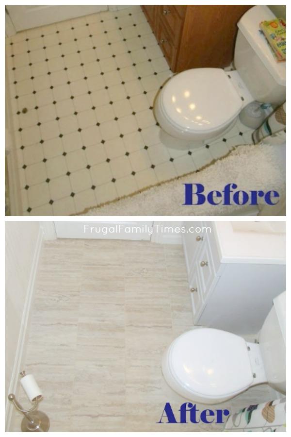 install peel and stick vinyl flooring