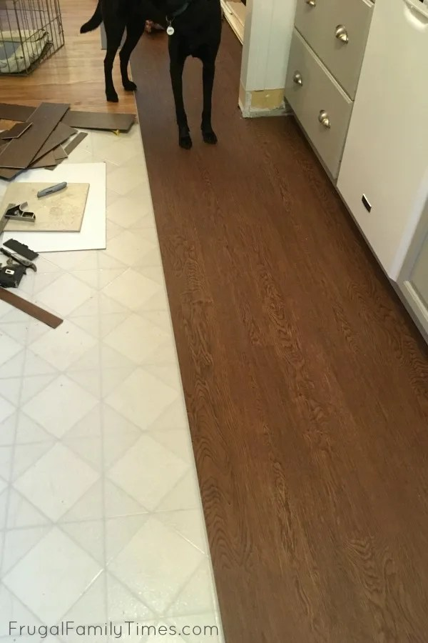 peel and stick groutable vinyl tile do