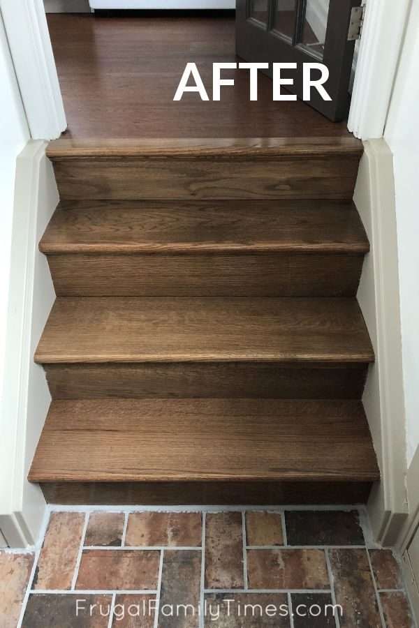 Diy Stairs Makeover How To Install Wood Treads Risers Over Old | Diy Wood Stair Railing | Diy Unique | Cable | Cast Iron Pipe | Wood Frame | Easy