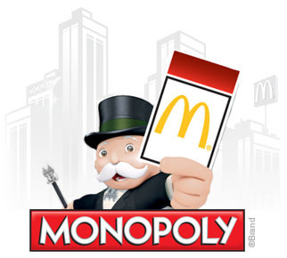 mcdonald 39 s monopoly australia 2018 rare tickets prizes. Black Bedroom Furniture Sets. Home Design Ideas