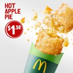 DEAL: McDonald's $1.50 Apple Pie (starts 22 May 2019)