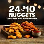 DEAL: KFC – 24 Nuggets for $10 (Original and Hot & Spicy Nuggets)