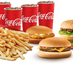 DEAL: McDonald's – $24.95 Family McValue Box (4 Burgers, 4 Small Fries, 4 Soft Drinks)