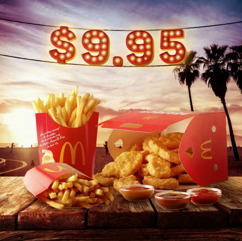 DEAL: McDonald's $9.95 Mates Share Pack