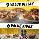 NEWS: Domino's Cheaper Everyday Menu with Pizzas & Sides from $5