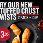 NEWS: Pizza Hut Stuffed Crust Twists