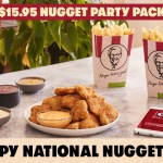 DEAL: KFC $15.95 Nuggets Party Pack – 30 Nuggets & 2 Large Chips (19 August on KFC App)