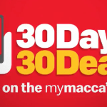 DEAL: McDonald's – 30 Days 30 Deals with mymacca's app (starts 1 November 2019)