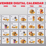 DEAL: McDonald's – 30 Days 30 Deals with mymacca's app in November