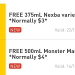 DEAL: 7-Eleven App – Free Nexba Drink & Monster Mango Tango Drink