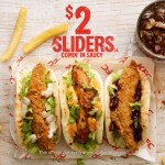 DEAL: KFC $2 Flatbread Sliders