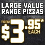 DEAL: Domino's – $3.95 Value Pizza (29 February 2020)