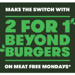 DEAL: Grill'd – 2 For 1 Beyond Burgers on Mondays until 30 December 2019 (Relish Members)