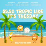 DEAL: Boost Juice – $5.50 Tropical Drinks (22 October 2019)