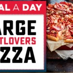 DEAL: Domino's Offers App – $6.95 Large Meatlovers Pizza (6 November 2019)
