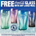 DEAL: Hungry Jack's – Free Coca Cola Glass with Large Meal Purchase (starts 5 November 2019)