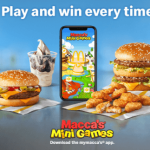 NEWS: Macca's Mini Games – Instant Win Prizes at McDonald's with mymacca's app